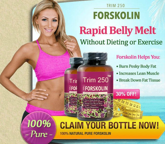 Trim 250 Forskolin Reviews - Health and Beauty Blog 2018