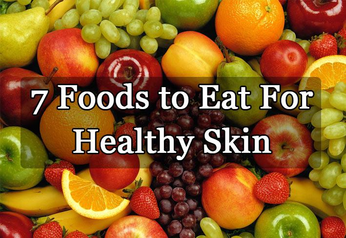 7 Foods You Should Include In Your Diet For A Healthy Skin
