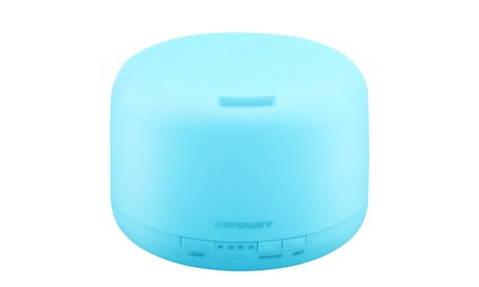 Urpower 500ml Aromatherapy Essential Oil Diffuser Humidifier